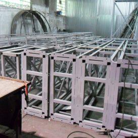 Металлоконструкции для арки над проезжей части